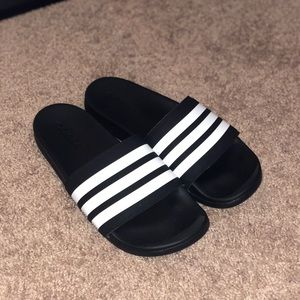 adidas cloud foam slides
